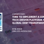 Time for a tech-driven platform to boost global debt transparency