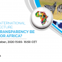 "EMEA announces the webinar ""Reforming International Debt Architecture: Can Debt Transparency Be Achieved for Africa"" scheduled on Thursday 22 October 2020, 15:00 CET"