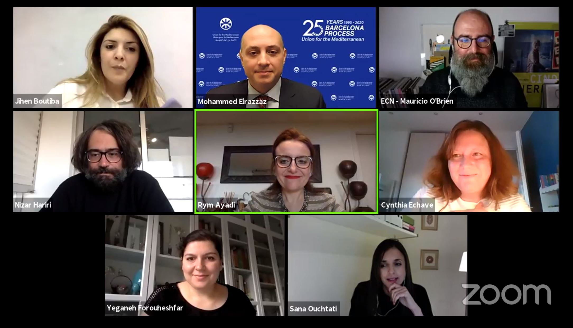 "The webinar ""Impacts of COVID-19 in the Cultural Creative Industry (CCI) in the Mediterranean: What Role for Digitalization?"" was completed successfully"