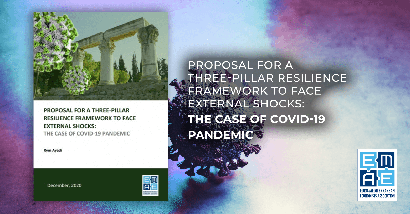 New EMEA policy paper – Proposal for a Three-Pillar Resilience Framework to Face External Shocks: The Case of Covid-19 Pandemic