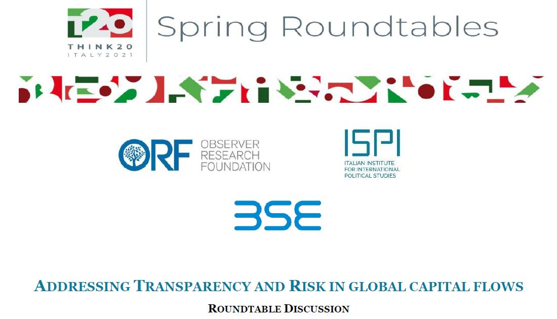 """EMEA President Prof. Rym Ayadi participates in T20 Roundtable on """"Transparency and Risk in Global Capital Flows"""""""