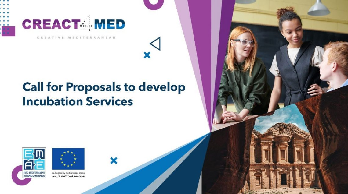 CREACT4MED launches Call for Proposals to Develop Incubation Services