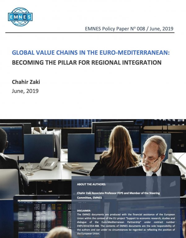 Global Value Chains In The Euro-mediterranean: Becoming The Pillar For Regional Integration