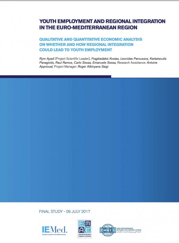 Youth employment and regional integration in the Euro-Mediterranean region – Qualitative and quantitative economic analysis on whether and how regional integration could lead to youth employment