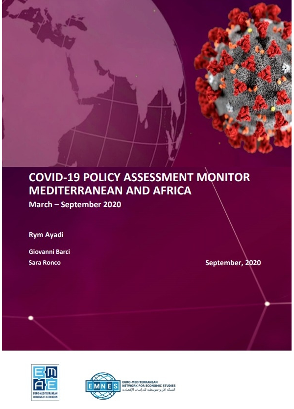 COVID-19 Policy Assessment Monitor: Mediterranean and Africa March – September 2020