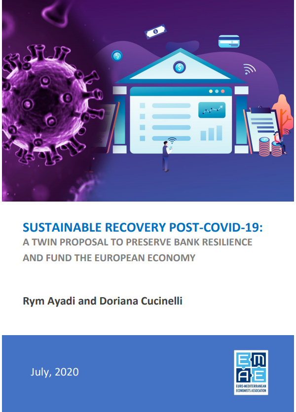 Sustainable recovery post-COVID-19: A twin proposal to preserve bank resilience and fund the European economy