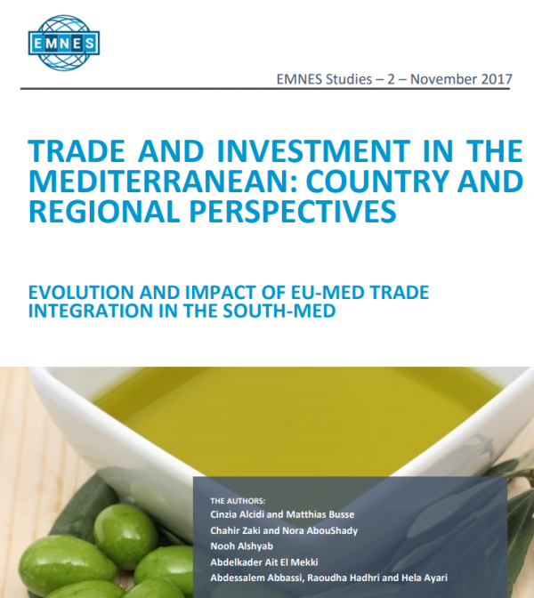 Trade and investment in the Mediterranean: Country and regional perspectives