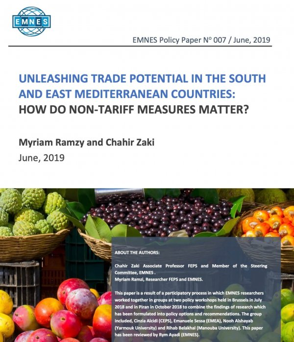Unleashing Trade Potential In The South And East Mediterranean Countries: How Do Non-tariff Measures Matter?